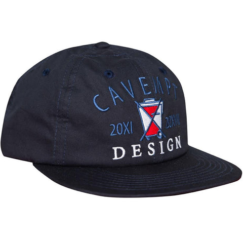 Cav Empt Waste Design Low Cap (Black)