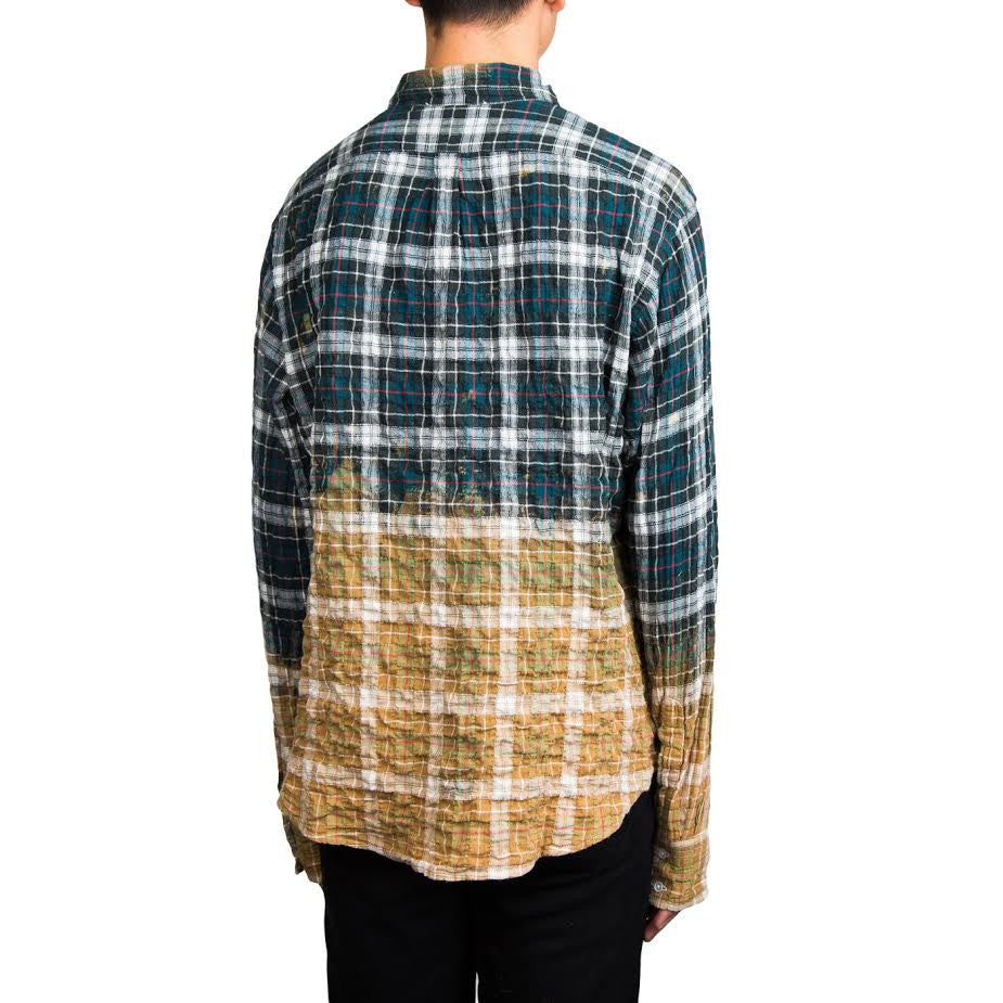 Faith Connexion Check Loose Shirt (Green/Red)