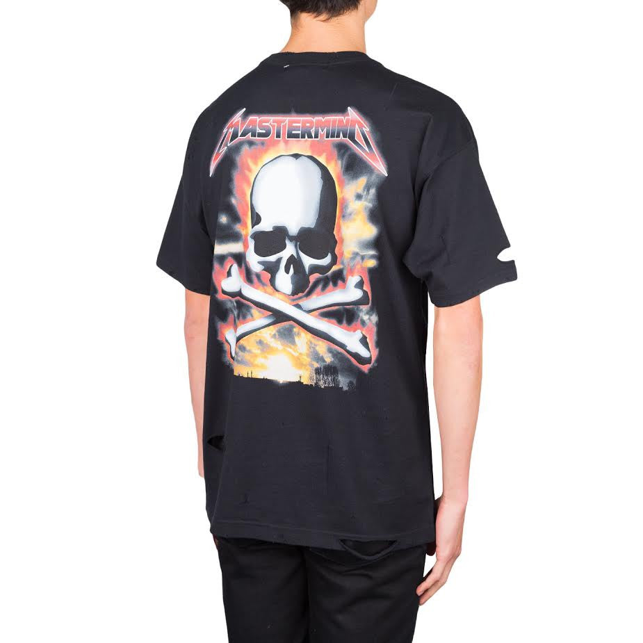 mastermind JAPAN Metallica Font Tee (Black)