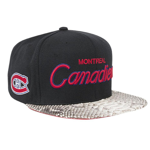 Just Don Montreal Canadians Script (Black/Natural)