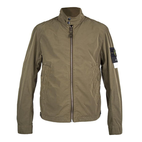 Stone Island David Tela Light Jacket (Military Green)