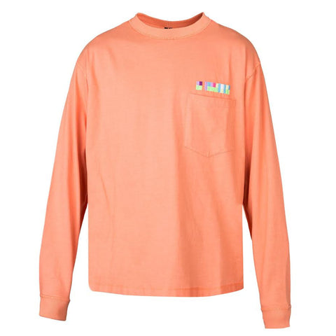 Mr Completely L/S Pocket Tee (Salmon)