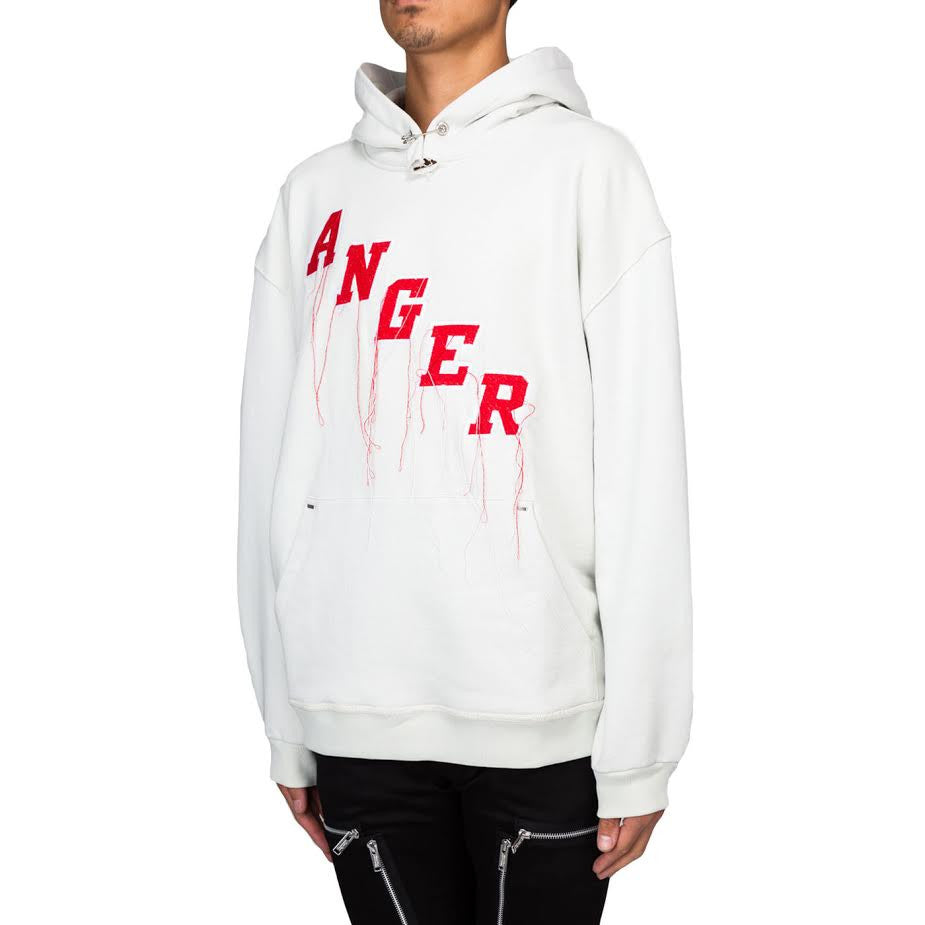 Mr Completely Anger Factory Hoodie (Bone)