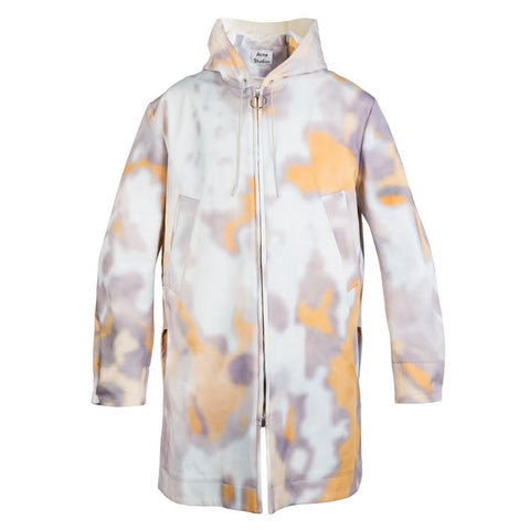 Acne Melt Print Coat (Bark)