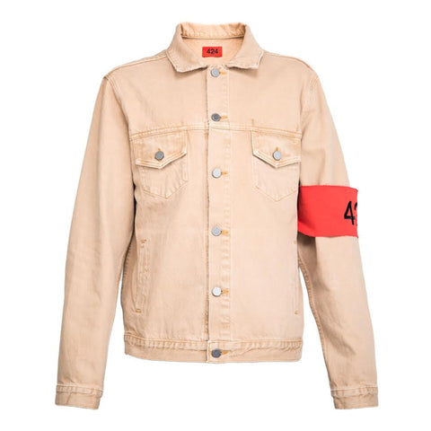 424 Denim Trucker (Camel)