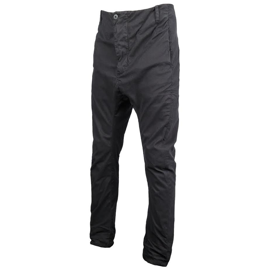 11 By Boris Bidjan Saberi Drop Crotch Pant (Black)