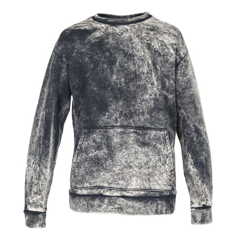 Robert Geller Acid Wash Sweatshirt (Black)