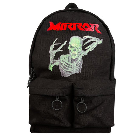 Off-White Mirror Skull Backpack (Black)