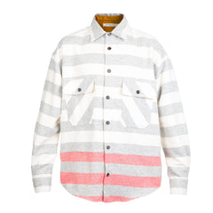 Mr. Completely CPO Stripe Shirt (Grey)