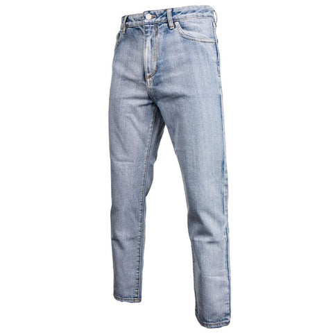 3.1 Phillip Lim Tappered & Cropped Denim Trouser (Washed Inidgo)