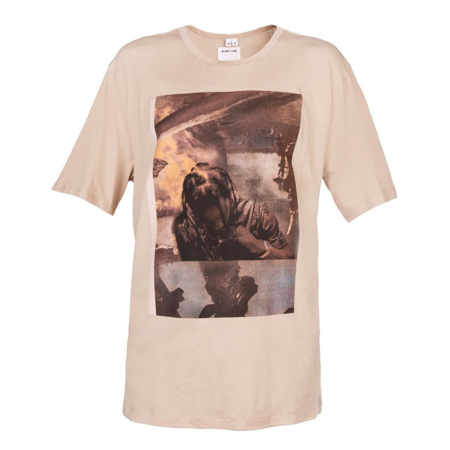 Helmut Lang x La Flame La Flame SS Tee (Oyster)