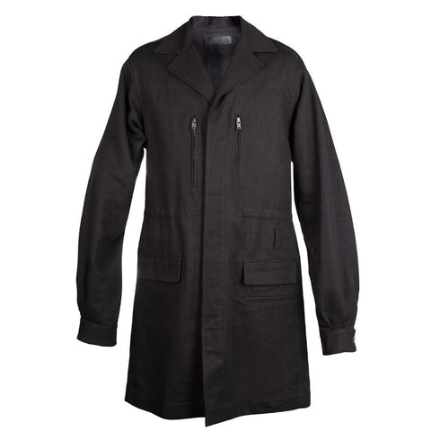 Haider Ackermann Hartman Coat (Black)