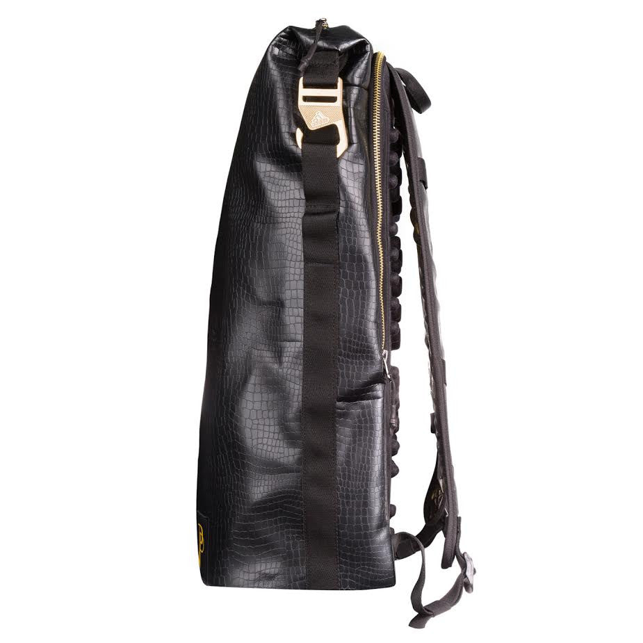 Buy adidas black and gold backpack   OFF62% Discounted 226456fe258e2