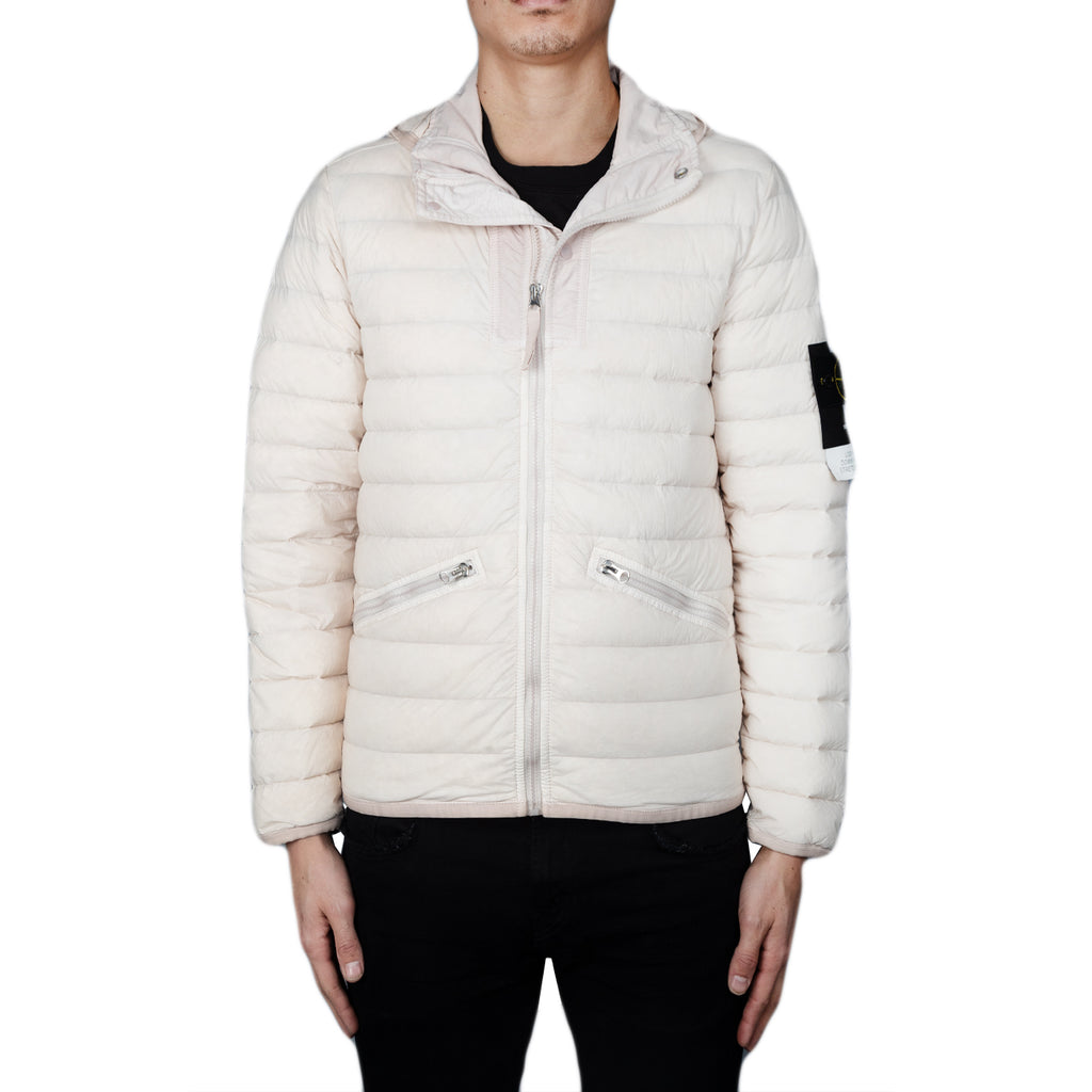 Stone Island SS19 Real Down Jacket, Light Salmon Pink