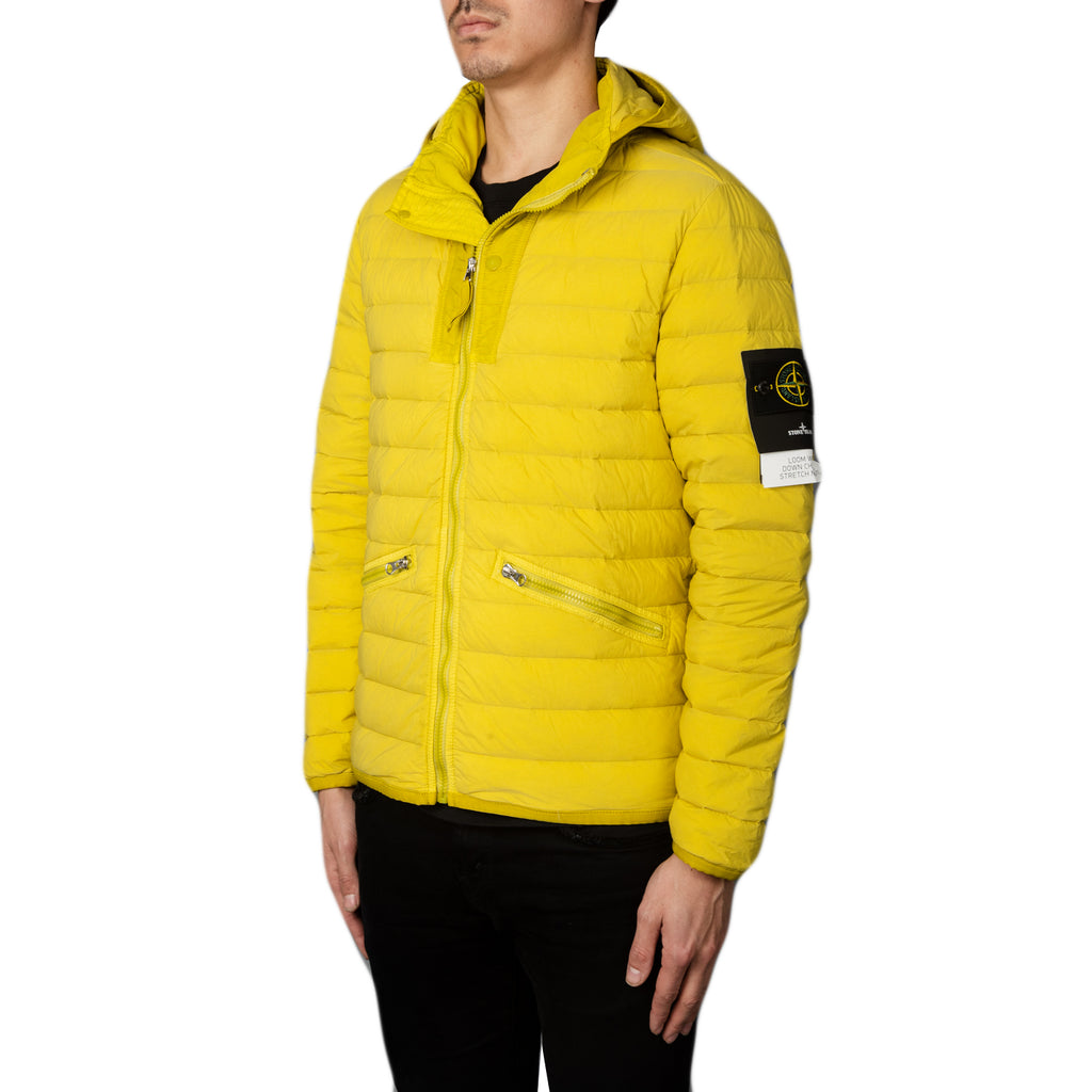 Stone Island SS19 Real Down Jacket, Mustard