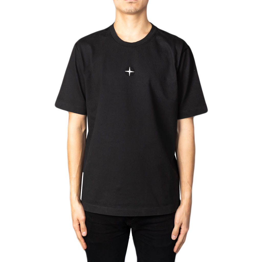 Stone Island SS19 Patch T-Shirt, Black