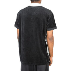 Adidas X Alexander Wang Velour Polo (Black)
