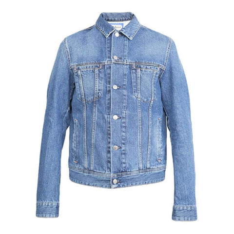 Acne Pass Denim Jacket (Mid Blue)