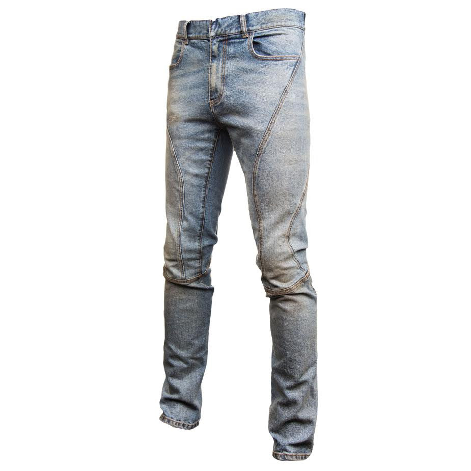 Faith Connexion Running Bleach Jean (Blue)