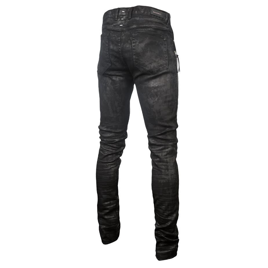 Mr Completely Trafford Wax Jean (Black)