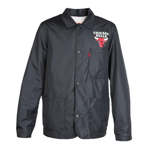 Levis X Chicago Bulls Coach Jacket (Black)