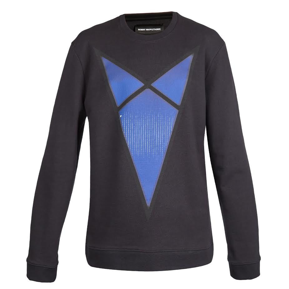 Raf Simons Blue Arrow Sweater (Black)