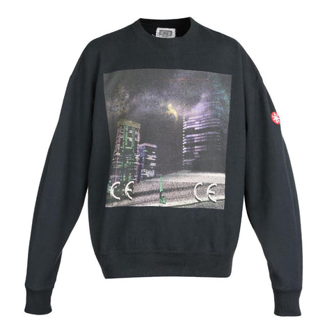 Cav Empt Night Vector Crewneck (Black)