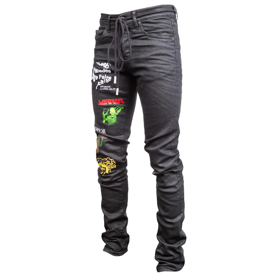 Off-White Rock Slim Jeans (Black)