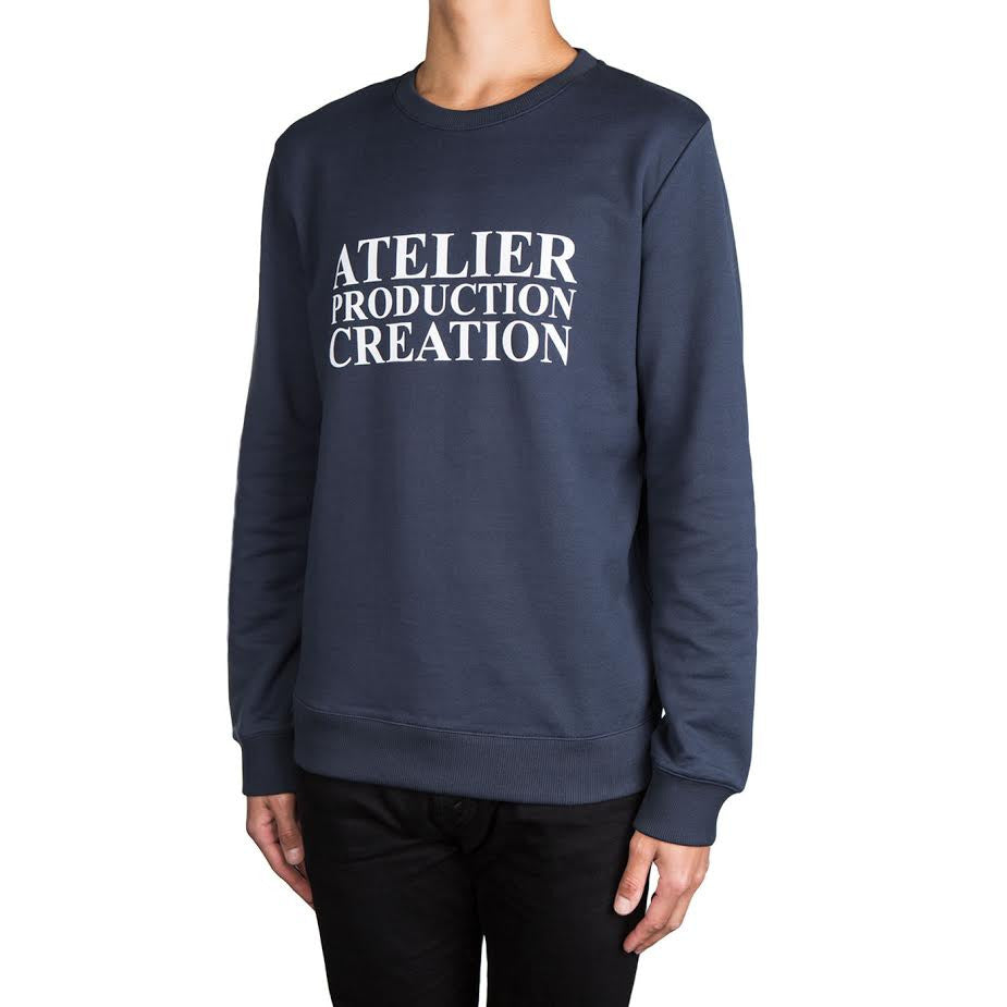 A.P.C. Atelier De Production  Crew (Navy)