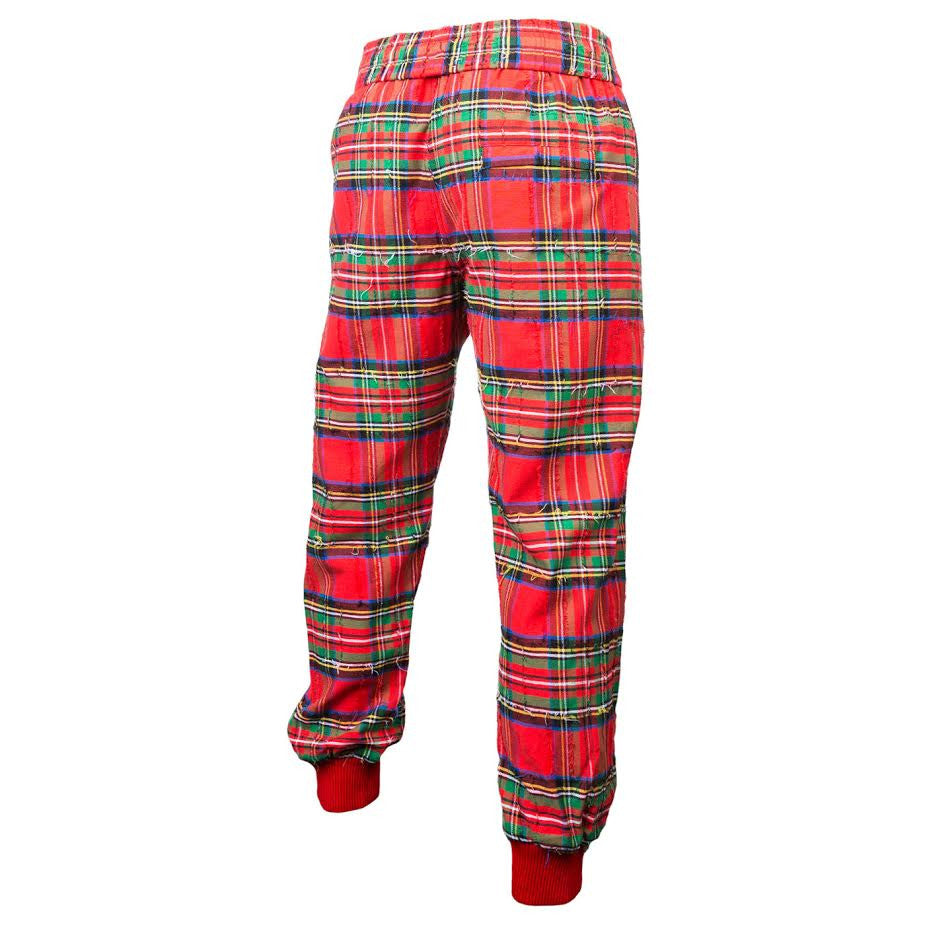 Off-White Umbro Check Pant (Red)