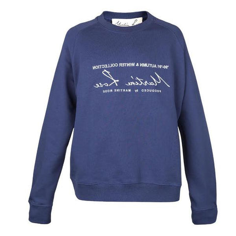 Martine Rose Classic Sweatshirt (Navy)