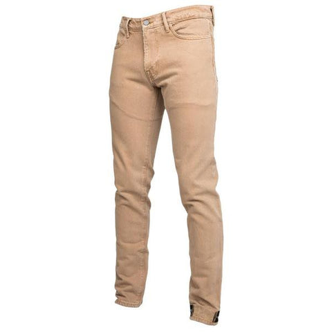 424 Denim Pant w/ Ankle Zip (Camel)