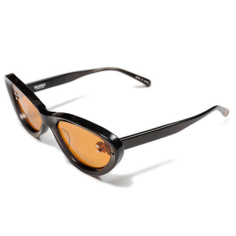 Doublet FW20 Sunglasses, Dark Grey/Orange