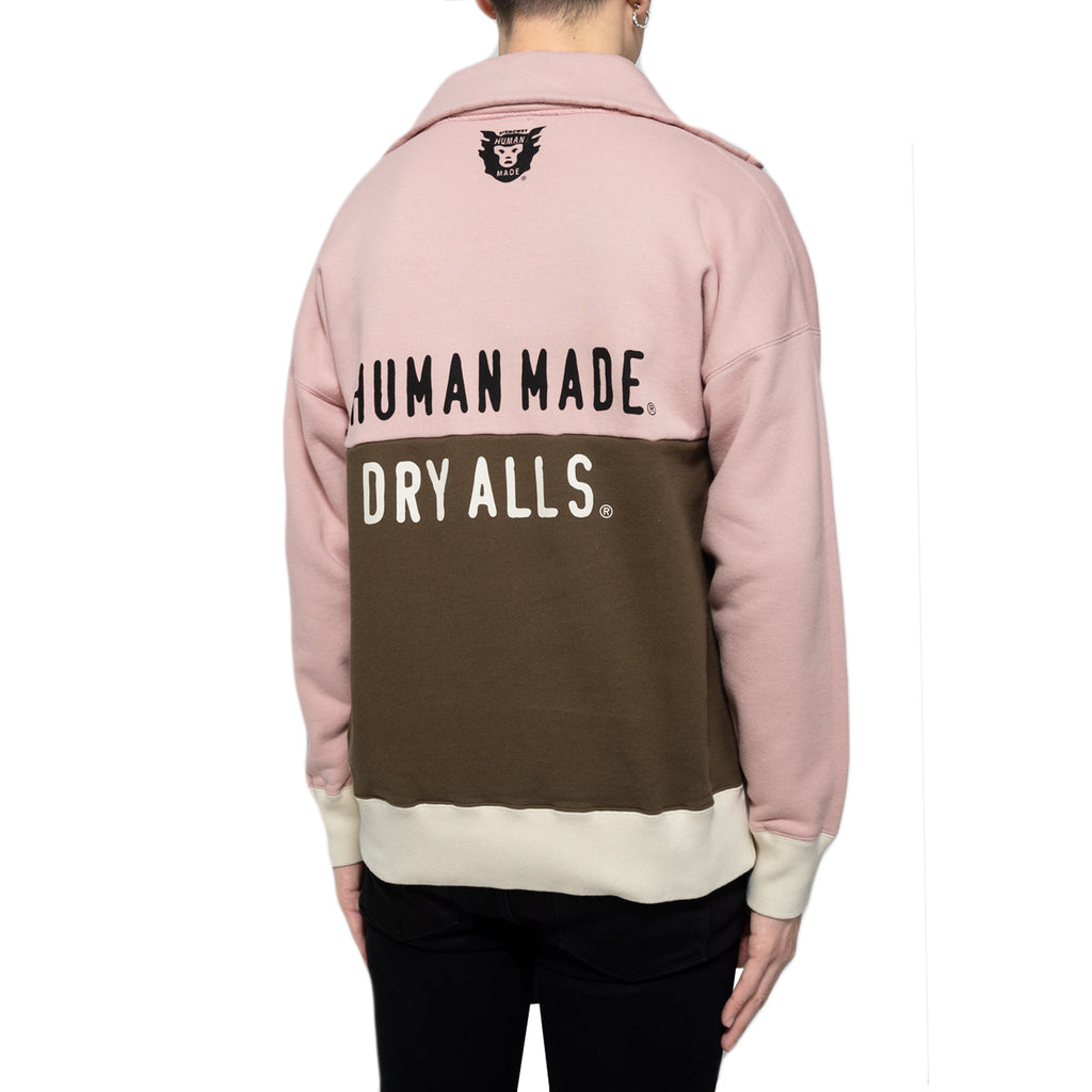 Human Made SS19 Two Piece Sweatshirt, Pink