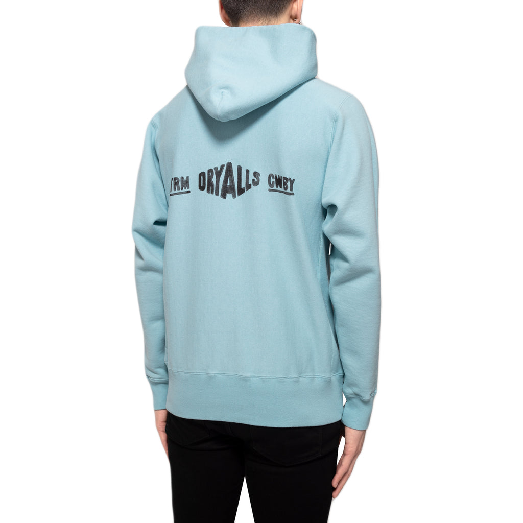 Human Made SS19 Pizza Hoodie, Blue