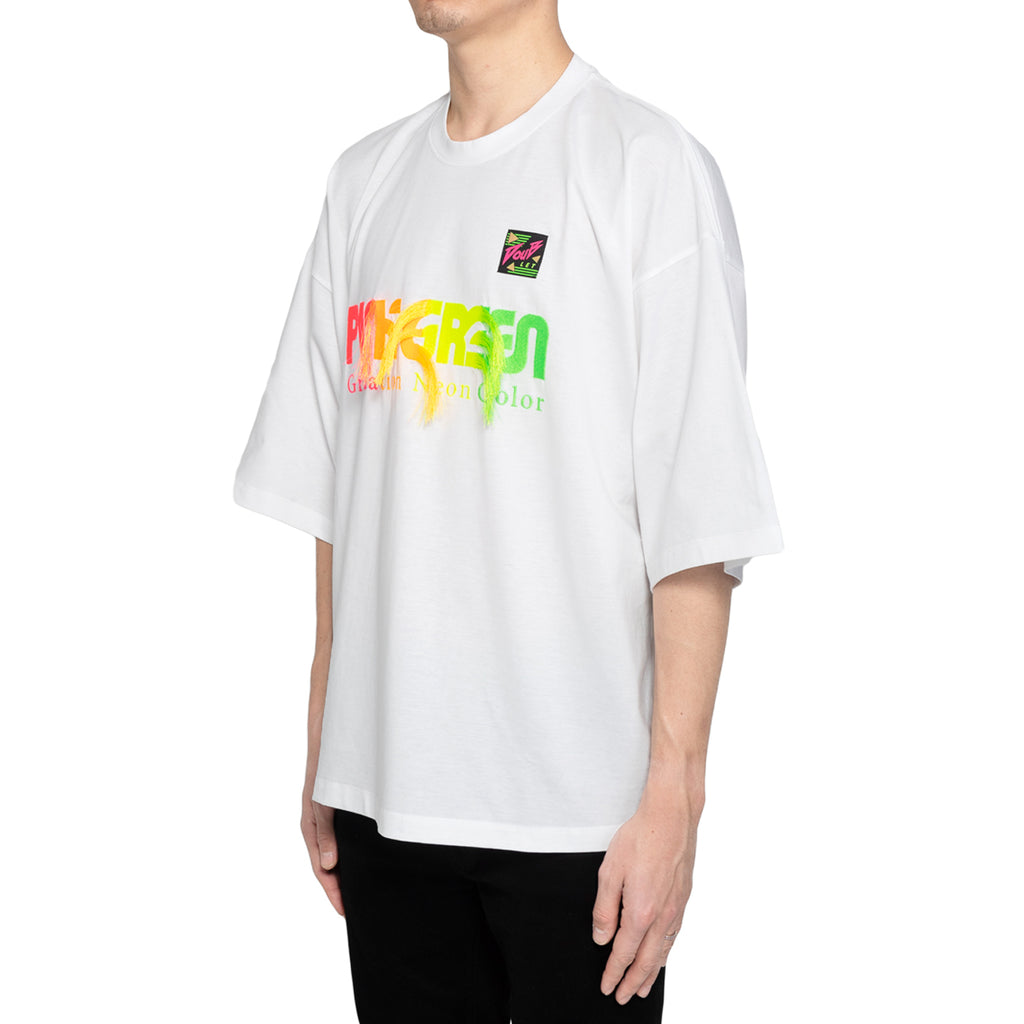 Doublet SS19 Graduation Neon Embroidery T-Shirt