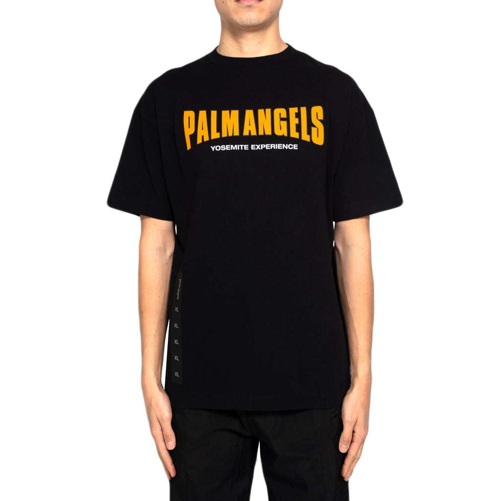 Palm Angels Vintage Logo Tee, Black