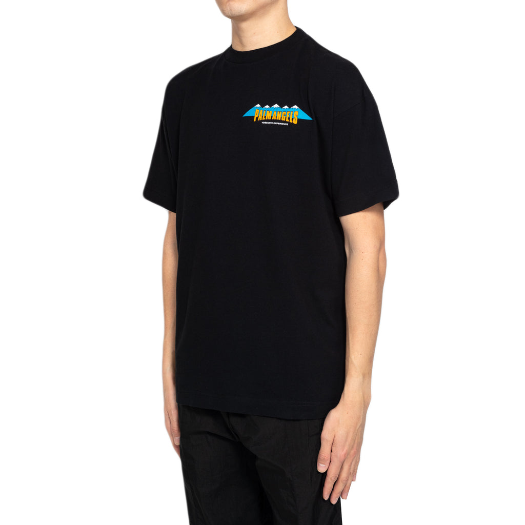 Palm Angels S/S Hiking Tee, Black