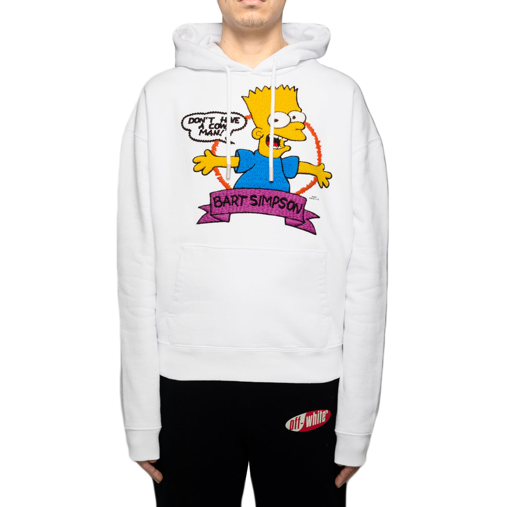 Off-White Bart Over Hoodie, White