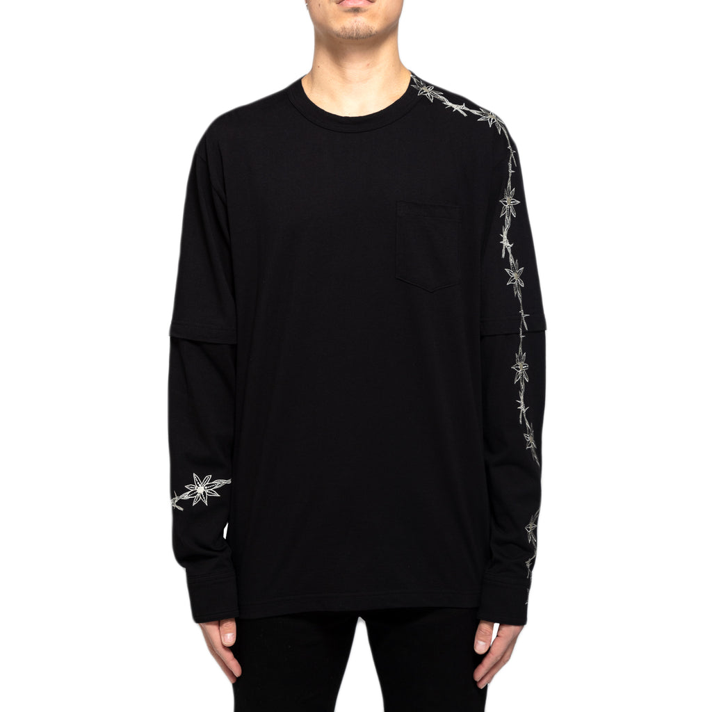 Sacai Dr. Woo Embroidered T-Shirt
