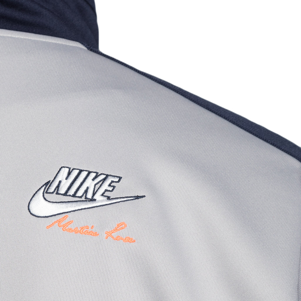 Nike x Martine Rose Track Jacket, Blackened Blue/Atmosphere Grey