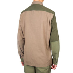 3.1 Phillip Lim Patchwork L/S Shirt (Army)