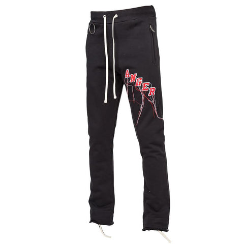 Mr Completely Anger Sweatpant (Black)