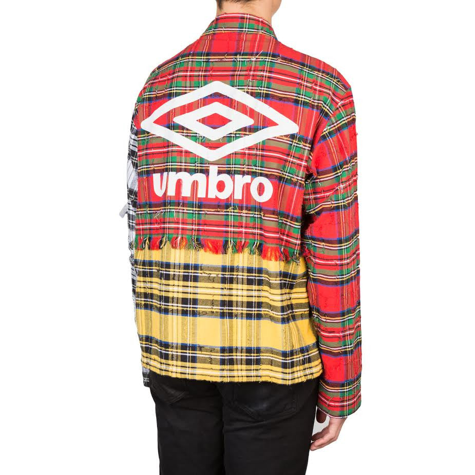 Off-White Umbro Check Jacket (Red)