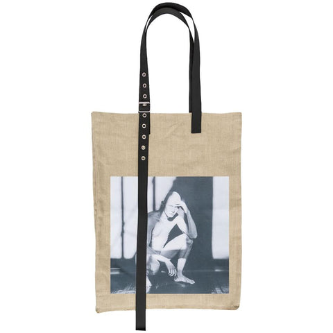 Raf Simons Naked Man Big Bag (Natural)