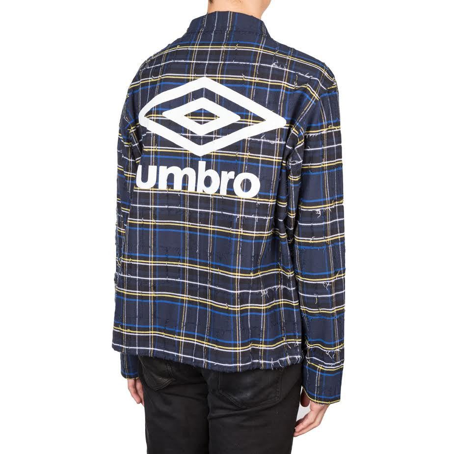 Off-White Umbro Check Jacket (Blue)