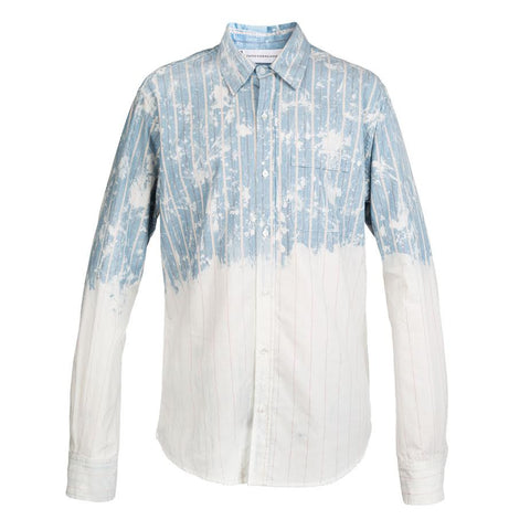 Faith Connexion Dot Loose Shirt (Blue/White)
