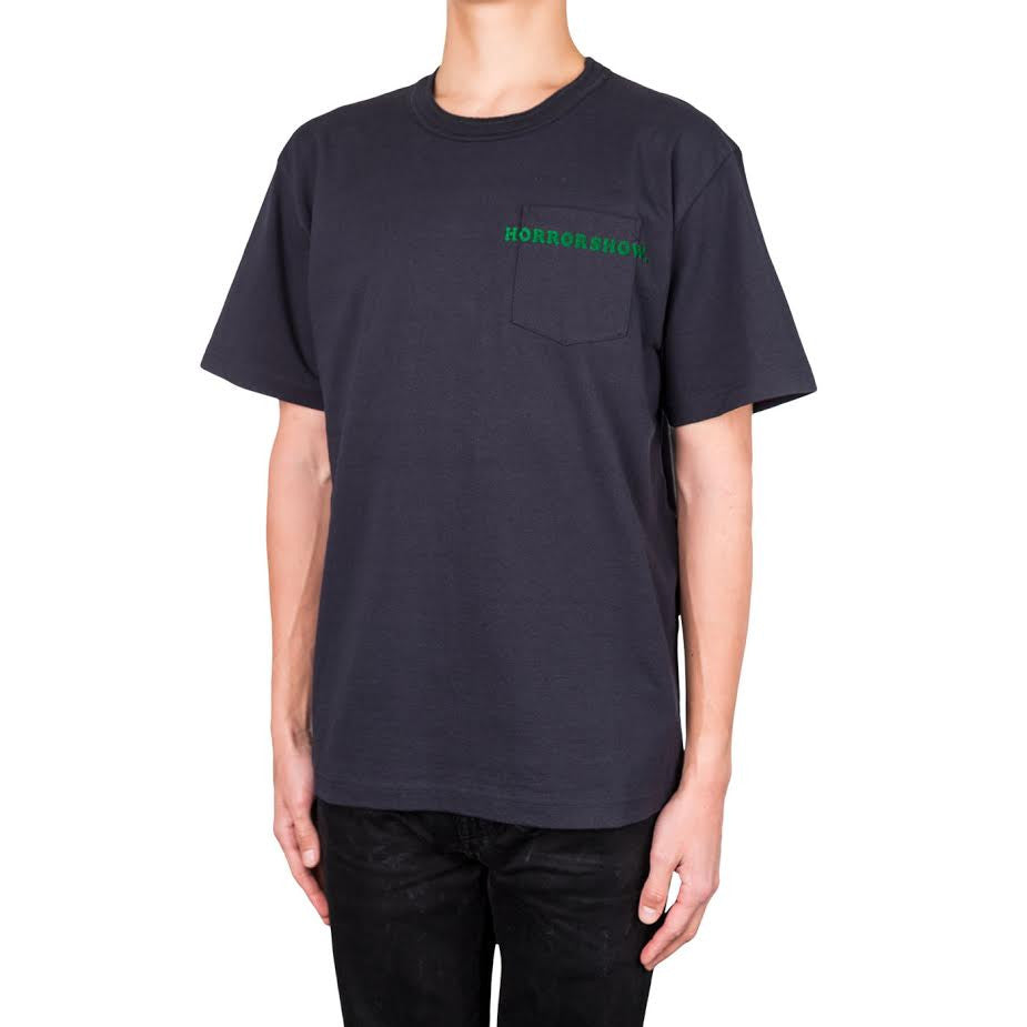 Sacai Horrowshow Pocket tee (Navy)