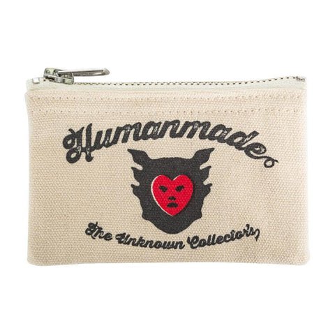 Human Made Coin Pouch (Cream)
