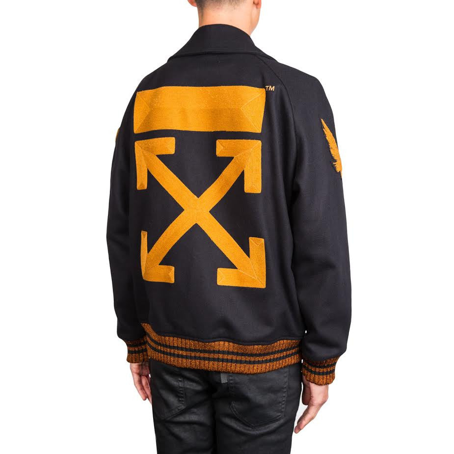 Off-White Varsity (Black/Gold)